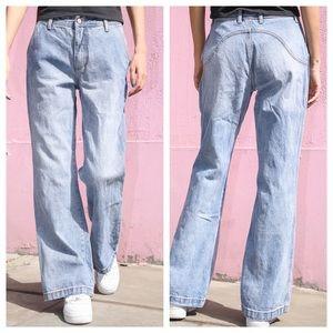Brandy Melville high rise flare Elizabeth jeans